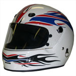 Harris Decals - Helmet Decals