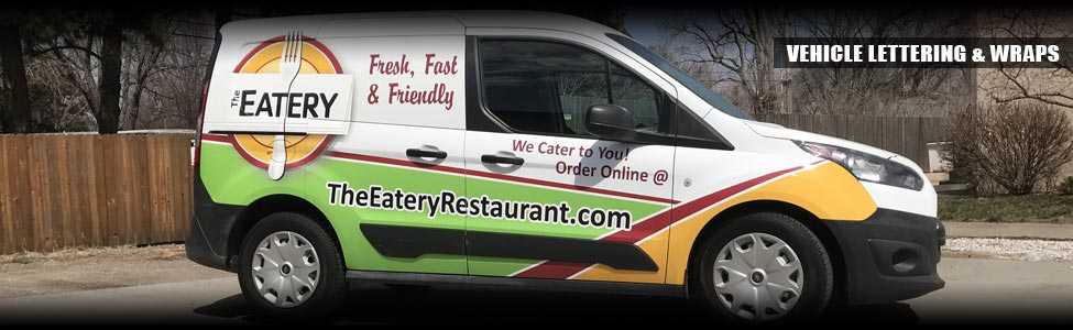 Vehicle Lettering, Graphics and Wraps