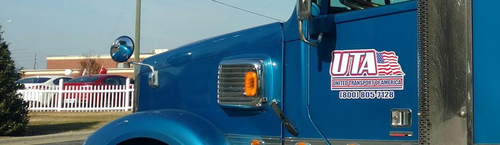Semi Truck Door Lettering Logo Harrisdecals Com