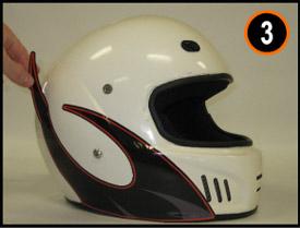 Harris Decals How To Apply Helmet Decals - Helmet decals